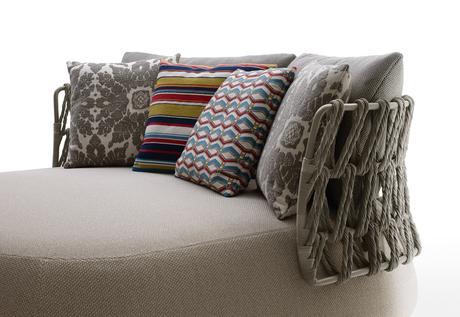Patricia Urquiolas New Outdoor Textile Furniture  Paperblog