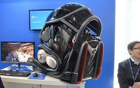 Weird Harley Davidson PC Case Mod Looks Ridiculously