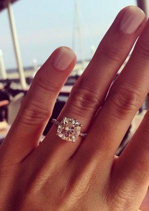 Cushion Cut Engagement Rings Eye Candy Paperblog