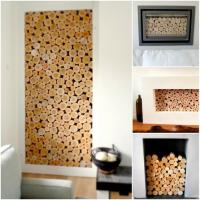 Wood Logs For Decoration - Home Decorating Ideas