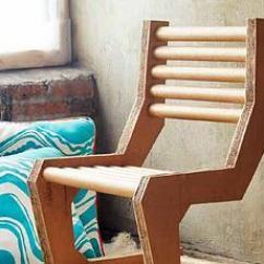 Chair Steel Legs Green Velvet Dining Chairs Uk How To Make A Diy Cardboard - Paperblog