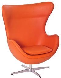 Orange Lounge Chair - Paperblog
