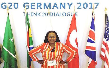 Chiedza Kambasha – G20 Germany 2017 – Image Copyright PaperBlog.Com