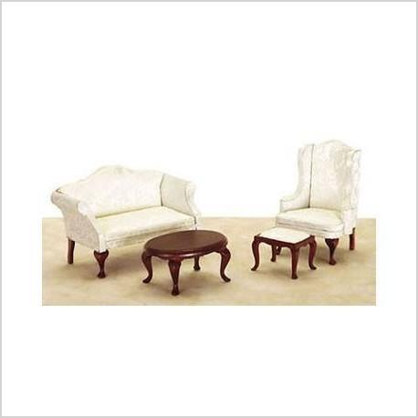 queen anne living room sets feature wallpaper ideas furniture set smartly paperblog 980 small qa 4pc wh fabic