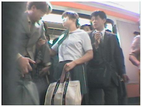 asian train groping