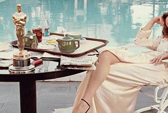 Faye Dunaway the Morning After Her Oscar Win  Paperblog