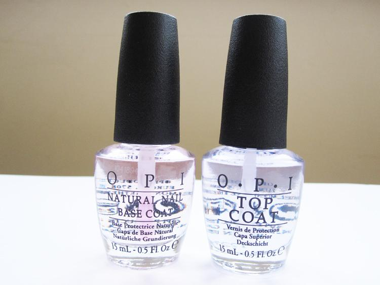 Image result for top and base coat nail polish opi