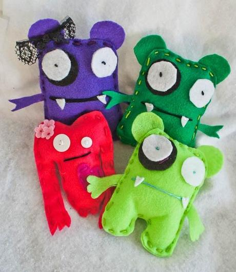 Top 10 Cutest Felt CraftsInspiration  Paperblog