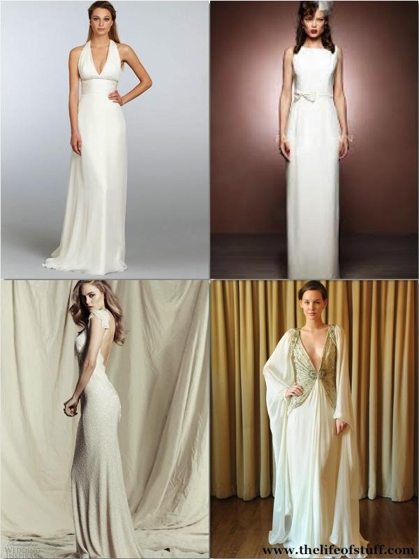 Sheath/Column Wedding Dresses