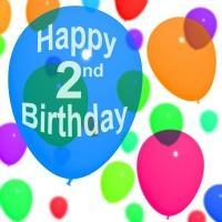 happy 2nd birthday to