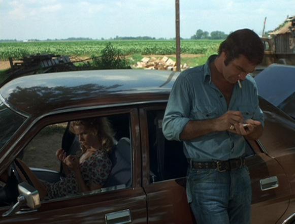 Burt, hard at work on the script for Gator.