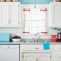 Red Kitchen Chairs Remodel Design Cost Paperblog