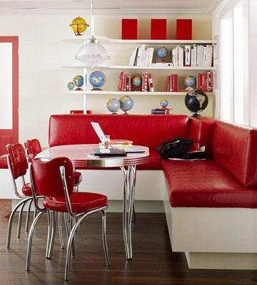 red kitchen chairs aid grills paperblog