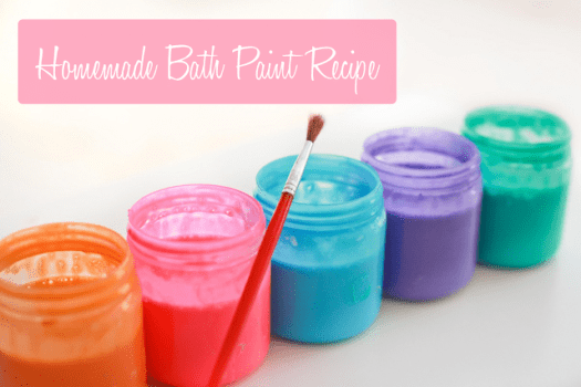 Make Bathtub Paint 5 Things To Do At Home With The Kids This Summer