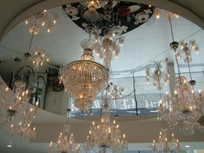 Our Tour Of The House Waterford Crystal In Ireland Paperblog Chandeliers
