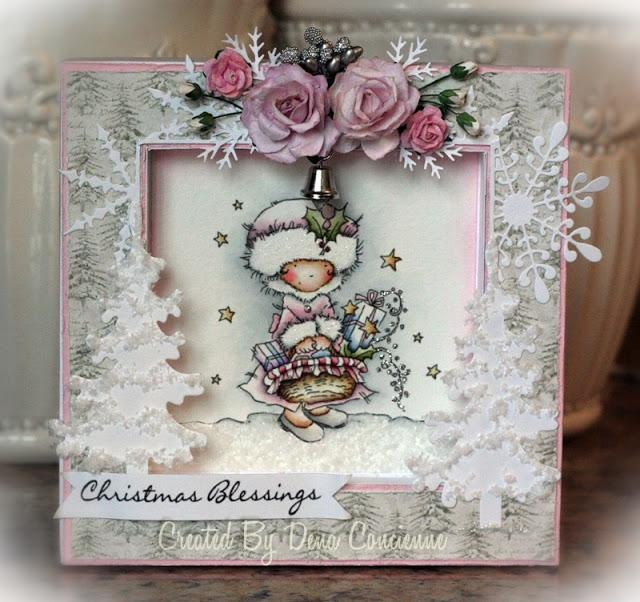 Lili Of The Valley Christmas Stamps Blog Hop Paperblog