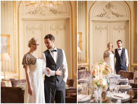 Great Gatsby Inspired Styled Shoot Schlosshotel Am Grunewald  Paperblog