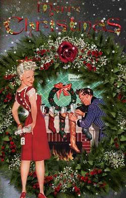 Vintage Christmas Cards From Glamourdaze Paperblog