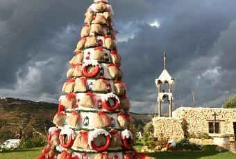 Christmas Village Opens at Arnaoon Village Batroun