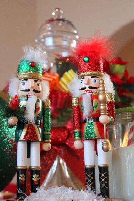Nutcracker Themed Christmas Dessert Table by Party Z  Paperblog