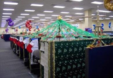 Christmas Decorations For Cubicles