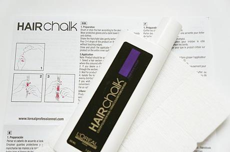 l oreal professionnel hair chalk paperblog