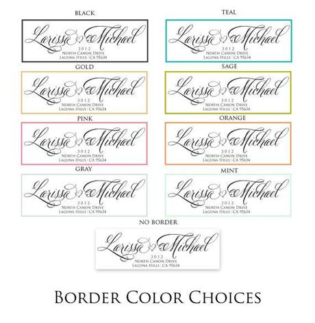 freshmintpaperie calligraphy address labels