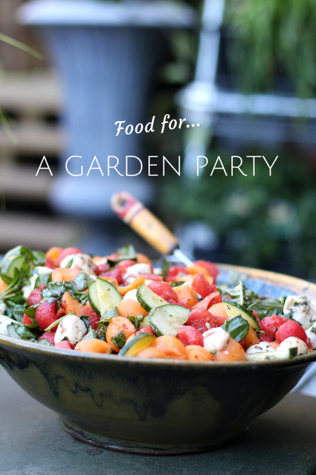 Simple Foods For A Summer Garden Party Paperblog