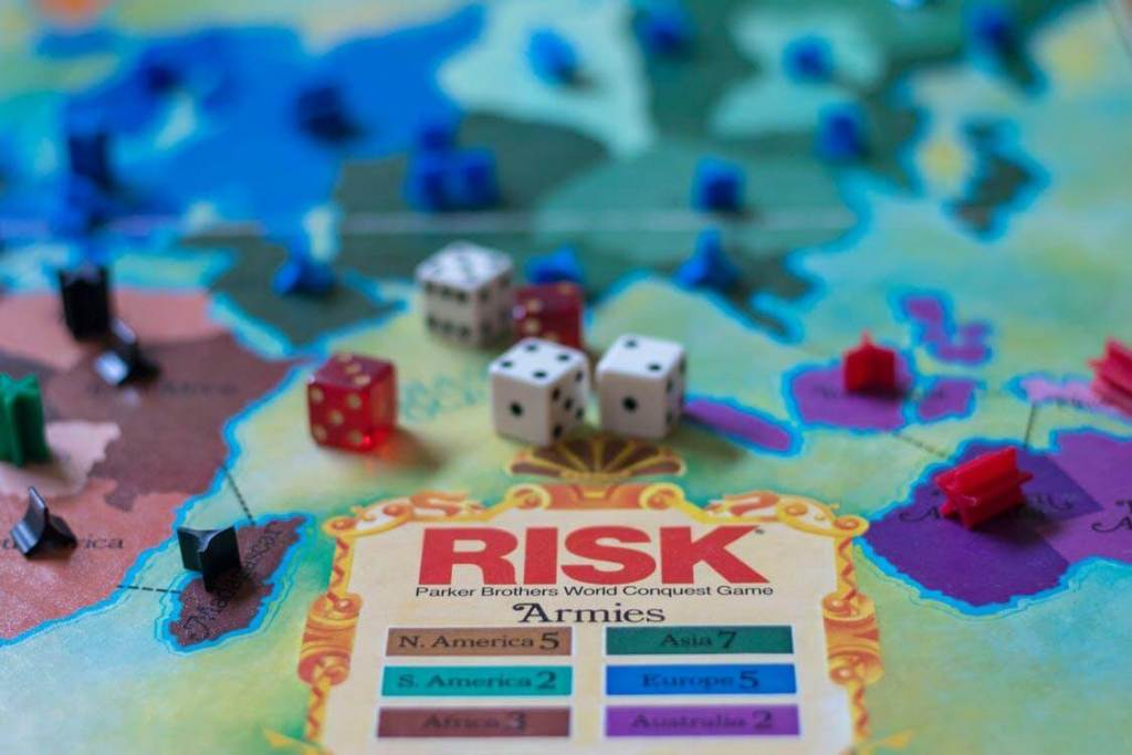 Risk cardgame