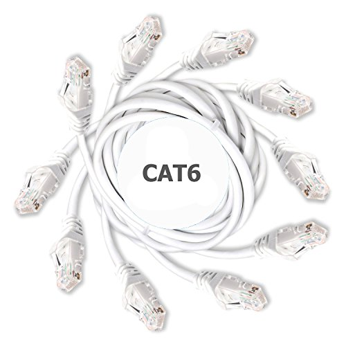 DynaCable Cat6 Ethernet Cable – White