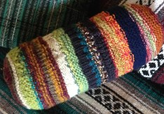 knitted patchwork pattern