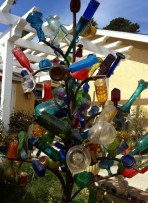glass bottle tree