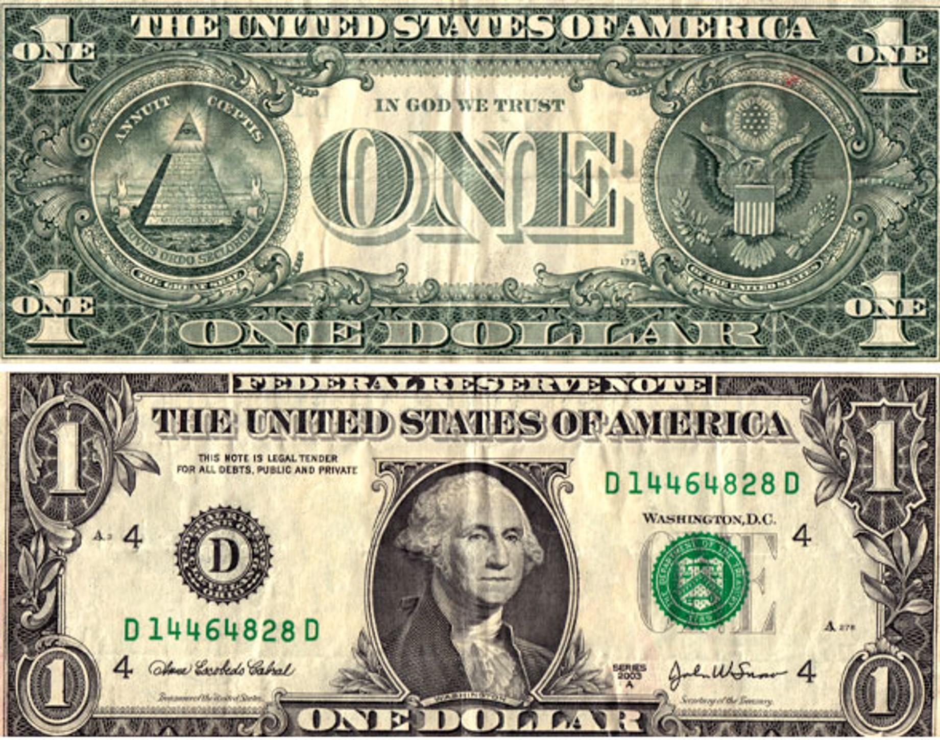 Hidden Secrets Of The Dollar Bill