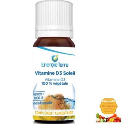 Vitamine D3 strictement Végétale! (1mois)