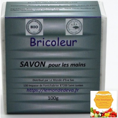 Savon Bio pour Monsieur Bricoleur
