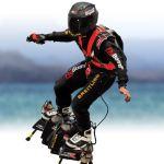 「Flyboard Air」は、実際に自由に空中浮遊ができる乗り物!