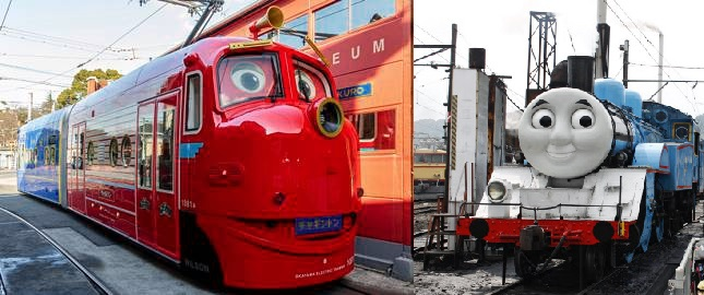 人気アニメのキャラが日本を走る!「機関車トーマス」と「チャギントンのウィルソン」