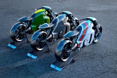 F1などで有名な自動車メーカーのロータス、初のバイク「C-01]は、デザインも凄いが、価格も凄い!