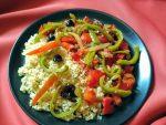 quinoa et peperonata à ma sauce