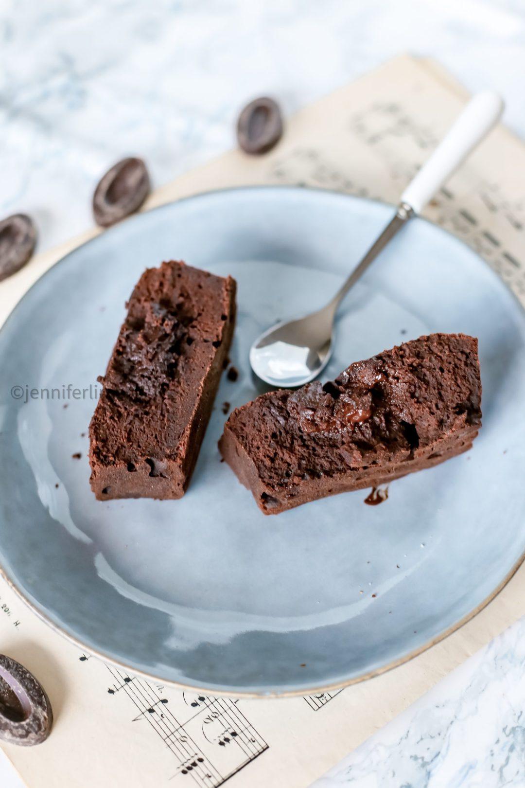 Fondant au chocolat sans gluten et hyper healthy 4