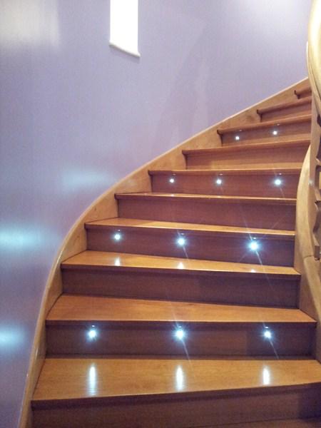 Eclairage Marche Escalier Exterieur