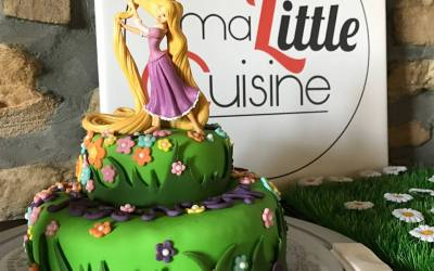 Mon gâteau Raiponce