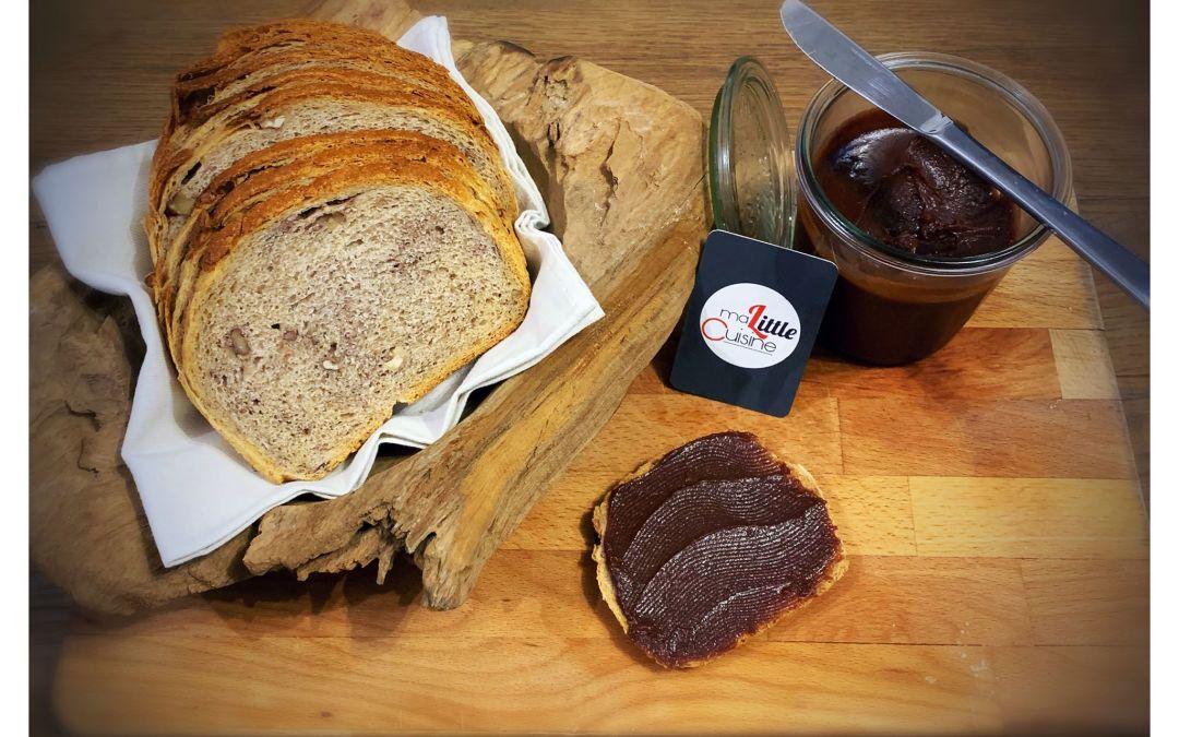 Pâte à tartiner aux noisettes (légère, facile et Vegan)