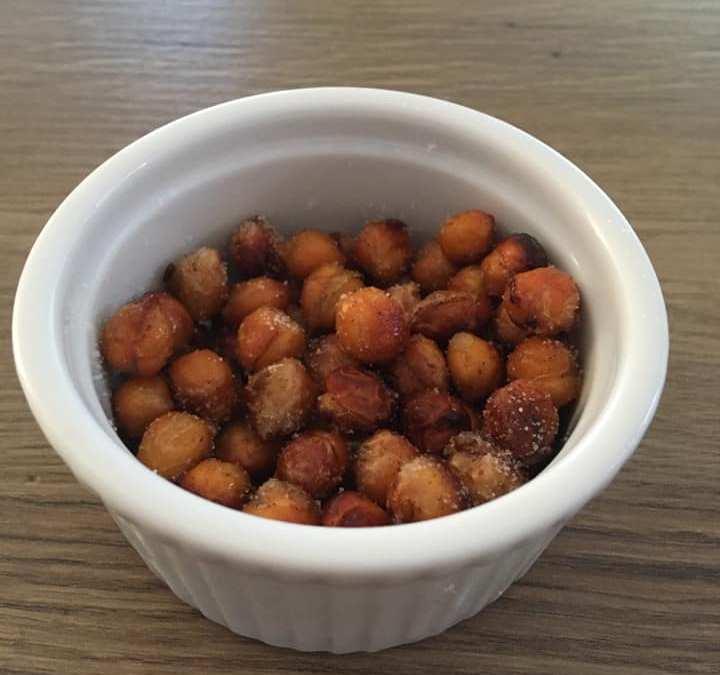 """""""Faux"""" pop corn de pois chiche (Vegan)"""