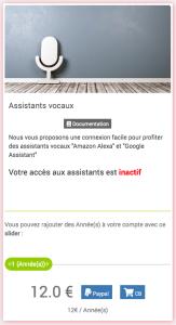 Service Assistant Vocaux
