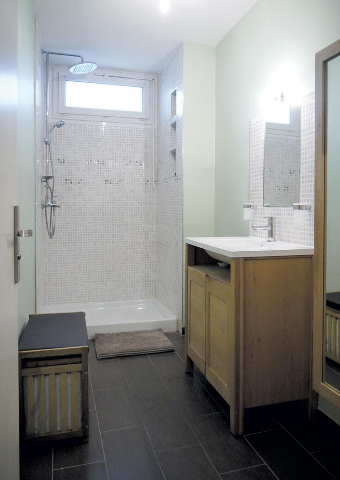 Rnovation dune salle de bains en salle deau  Toulouse
