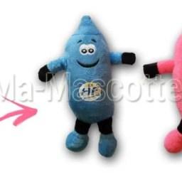 Fabrication Peluche Sur Mesure préservatif HF PREVENTION (peluche objet sur mesure).