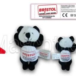 Fabrication Peluche Sur Mesure panda BRISTOL (peluche animal sur mesure).