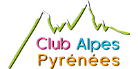 Logo Client CLUB ALPES PYRÉNÉES (Ma Mascotte - fabrication sur mesure de mascottes et peluches).