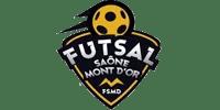 Logo Client FUTSAL SAÔNE MONT D'OR (Ma Mascotte - fabrication sur mesure de mascottes et peluches).